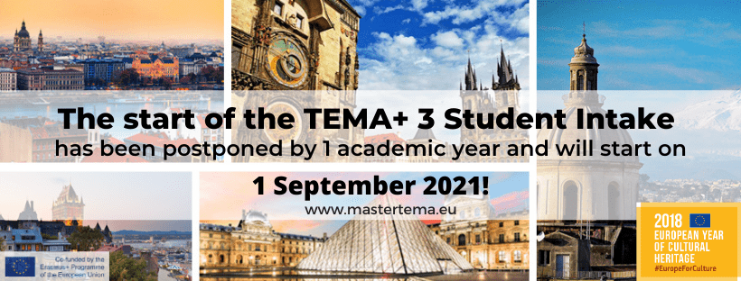 Letter from the TEMA+ Scientific Coordinator, Prof. Gábor Sonkoly about the postponement of the start of the TEMA+ 3 due to the COVID-19 pandemic
