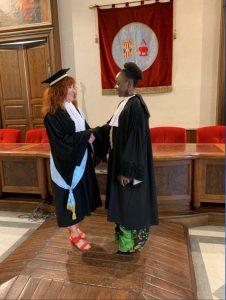 First TEMA+ graduation!